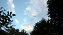Paragliding, motorové křídlo, září 2008, Brno Soběšice
