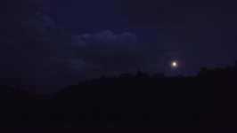 Měsíc v noci, září 2008, Brno Soběšice
