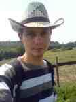 Malý kovboj s kloboukem