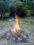 Hoří hoří oheň zahrada