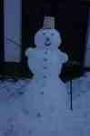 Sněhulák - snowman