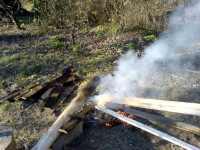 Úprava dřeva ohněm