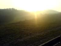 Západ slunce Soběšice Brno