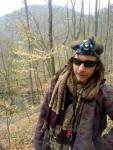 Wart na vrcholu Býčí skály, 12.4.2008