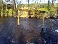 Brána ve vodě na Rozvodí Lužnice