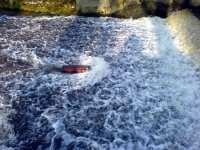 Překážka proudu vody na Rozvodí