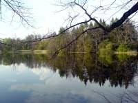 Rybník nedaleko Rožmberka a Rozvodí