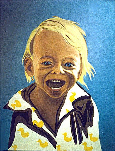 olej na plátně, 70x50 cm, 2000