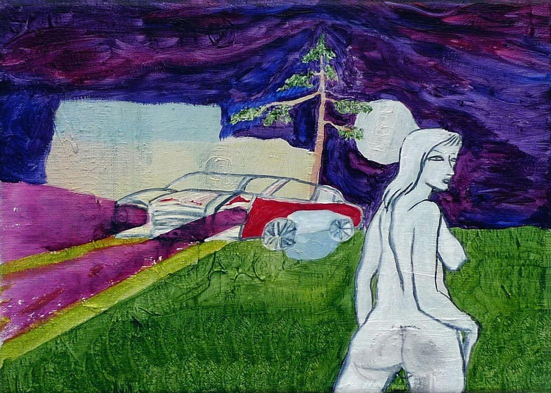 (společně s Michalem Gogorou), akryl na plátně, 25x35 cm, 2009