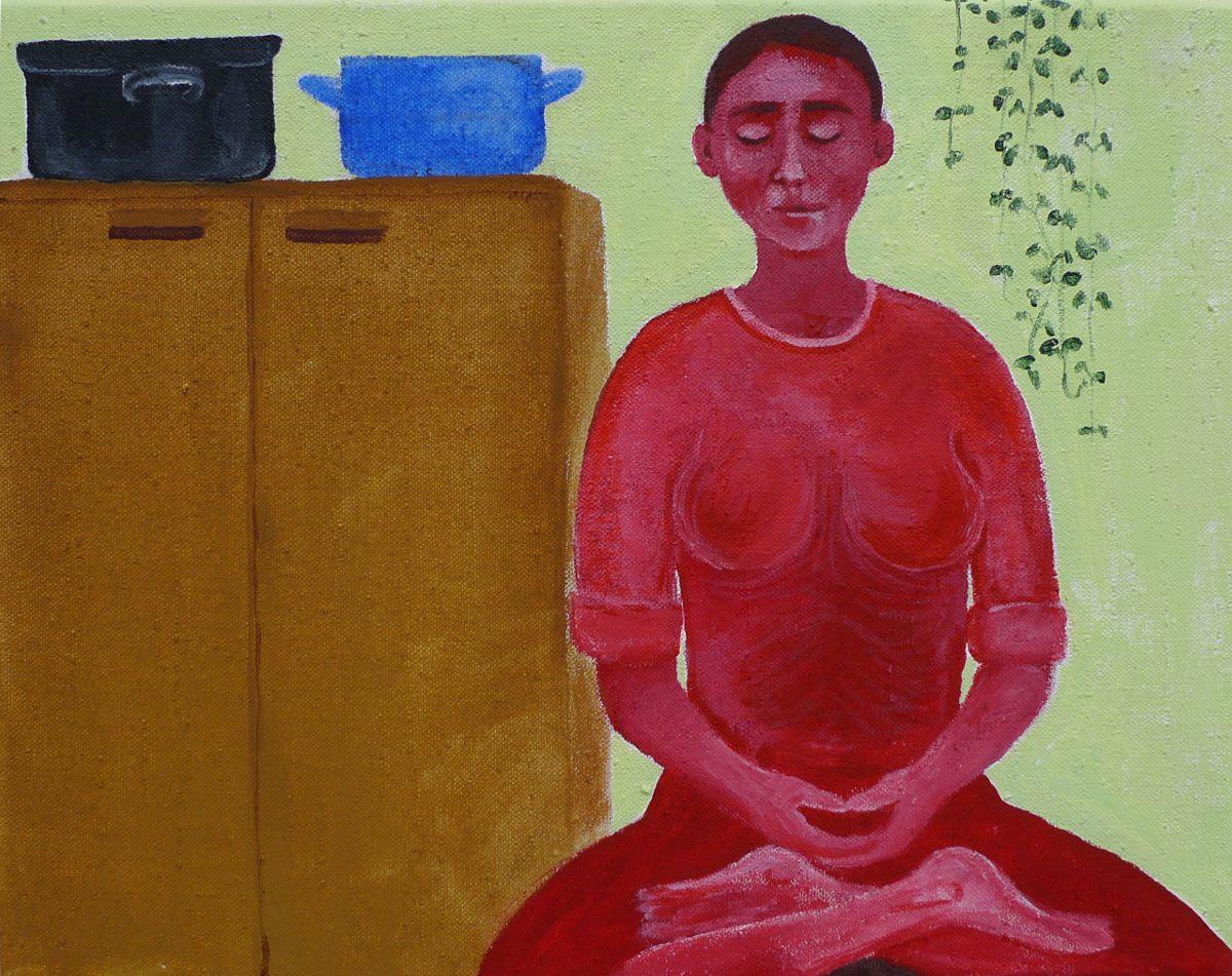 akryl na plátně, 40x50 cm, 2010, soukromá sbírka