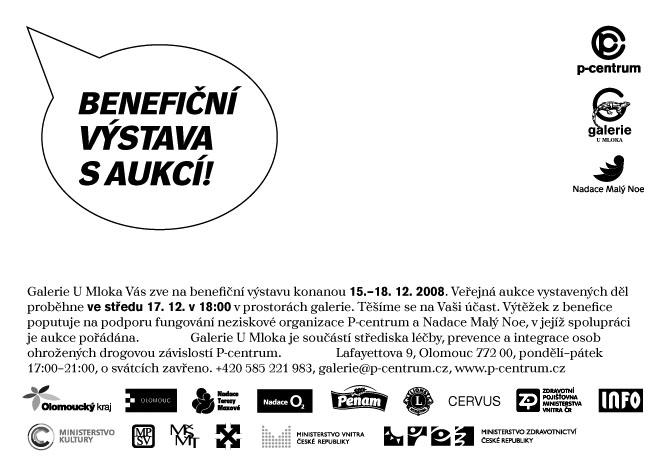 Benefiční aukce v Olomouci, 17.12.2008