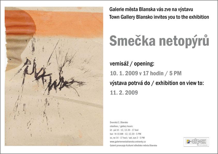 Punkwa: Smečka netopýrů, Galerie města Blanska, do 11.2.2009