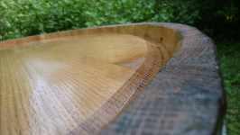 Detail - dubový sud na vodu bednář Fryzelka Vlachovice, červen 2008