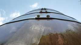 Dubový sud bednář Fryzelka Vlachovice, červen 2008