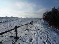 Ohrada a sníh, Soběšice, březen 2009