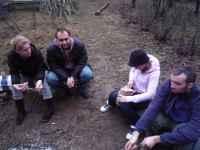 Narozeniny na zahradě, Soběšice, 15.3.2009