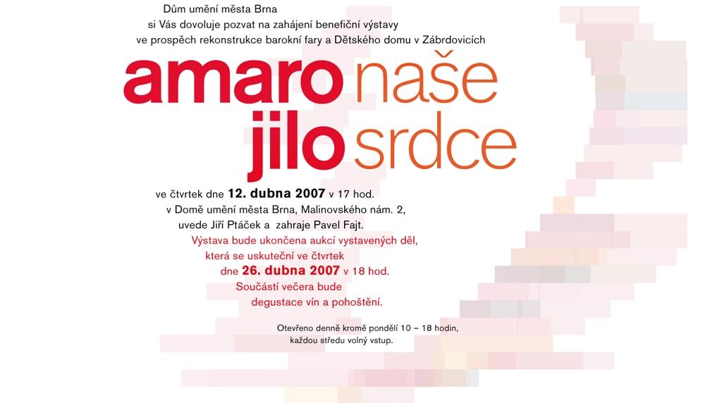 Amaro Jilo, 12.4.2007 v 17.00, Dům Umění Brno