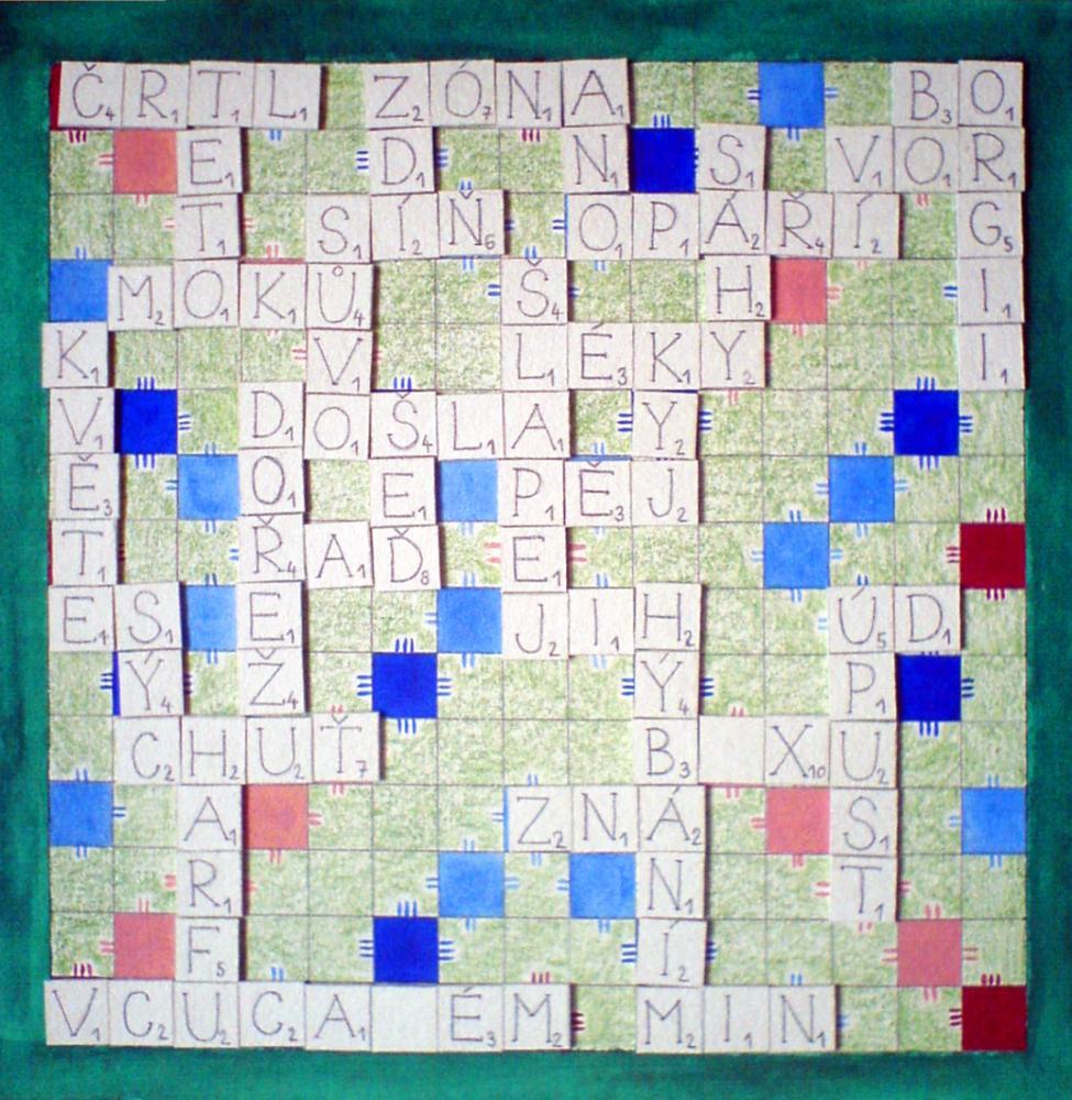 Homemade Scrabble DIY v češtině, Scrabble vlastní výroby