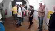 Opening of Kampa Punkwo? exhibition, 18.6.2008 Dolmen Gallery, Prague