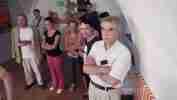 Vernisáž výstavy Kampa Punkwo?, 18.6.2008 Galerie Dolmen Praha