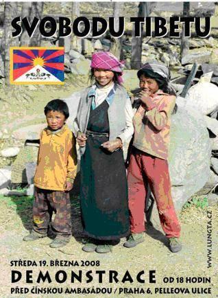 Svobodu Tibetu!