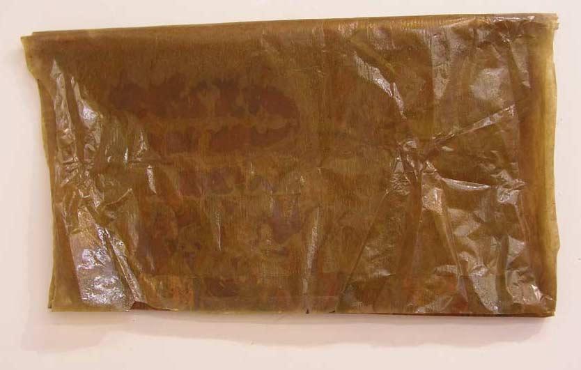 Mars č.1, olej a damarová pryskyřice na papíře, 2004